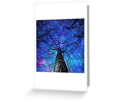 falling stars Greeting Card