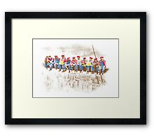 Anyone Can Make It (Classic Version) Framed Print