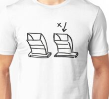 2 airvents, on the roof.. Unisex T-Shirt
