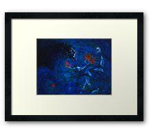 Brett Whiteley dances on water Framed Print