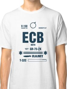 Rebel Echo Base ECB, Hoth Luggage Tag Classic T-Shirt
