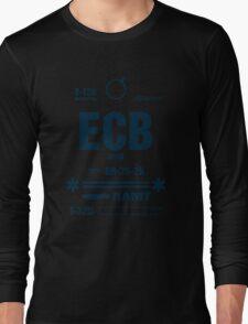 Rebel Echo Base ECB, Hoth Luggage Tag Long Sleeve T-Shirt