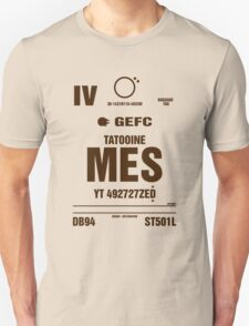 Mos Eisley, Tatootine Luggage Tag T-Shirt