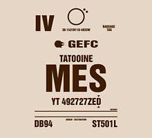 Mos Eisley, Tatootine Luggage Tag Unisex T-Shirt