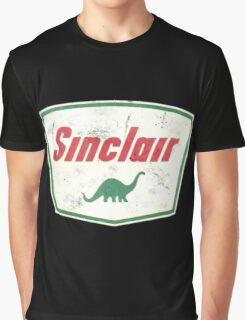Vintage Sinclair logo Graphic T-Shirt
