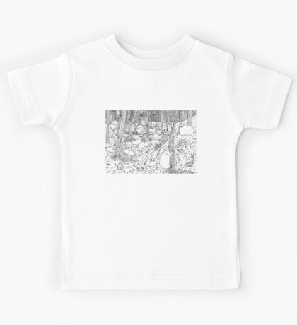Diurnal Animals of the Forest Kids Tee