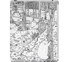 Diurnal Animals of the Forest iPad Case/Skin