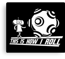 Katamari Damaci: This is how I Roll Canvas Print