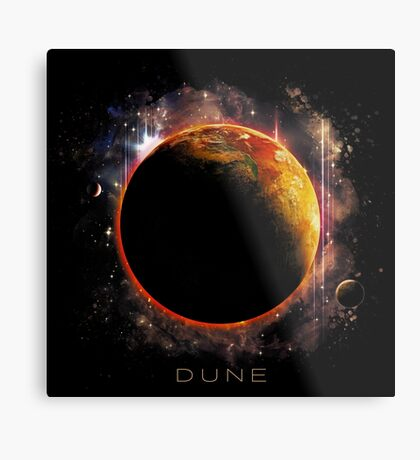 DUNE the spice must flow Metal Print