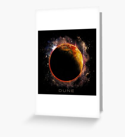 DUNE the spice must flow Greeting Card