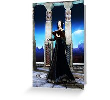 Lady Stormchaser Greeting Card