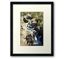 Little Millstream Falls Framed Print
