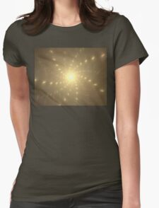 Spacetime Womens Fitted T-Shirt