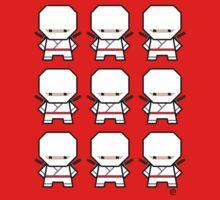 Mekkachibi Ninja Army (White) Kids Clothes