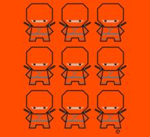 Mekkachibi Ninja Army (Custom Color) Kids Tee