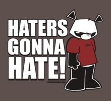 Pissed OFF Panda Haters Gonna Hate by Frankenstylin