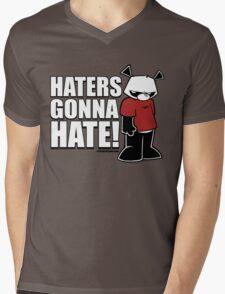 Pissed OFF Panda Haters Gonna Hate Mens V-Neck T-Shirt