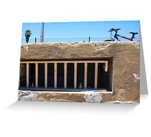 Basil's Prison Window Greeting Card