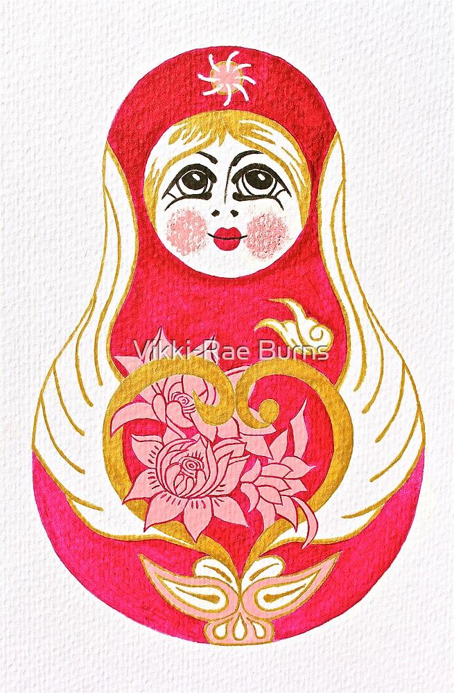 Angelic Babushka by Vikki-Rae Burns