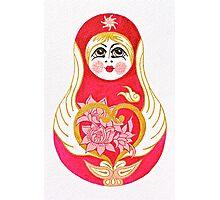 Angelic Babushka Photographic Print