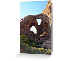 Triple Arch- Elephant Arch Greeting Card
