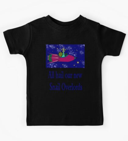 Snail Overlord 3,334,298 Kids Tee