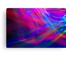 Abstract Light Painting Canvas Print