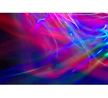 Abstract Light Painting Photographic Print