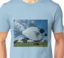 Silver Fish,Sculptures on The Edge,Australia 2015 Unisex T-Shirt
