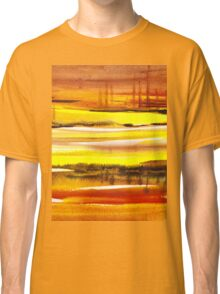 Reflections Abstract Landscape  Classic T-Shirt