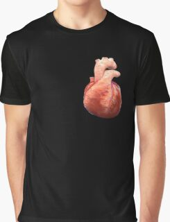 Awesome Real Heart Graphic T-Shirt