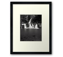 """Elabana Falls"" ∞ Lamington National Park, QLD - Australia Framed Print"