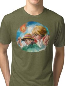 One Magical Family Sophie and Howl Tri-blend T-Shirt