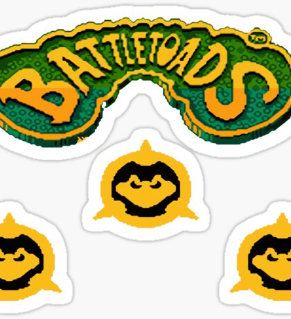 3 BattleToads - 8bit Sticker