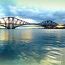 Forth Rail Bridge Reflections by ©The Creative  Minds