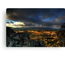 Hanging Rock HDR #1 Canvas Print