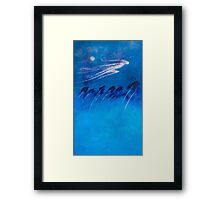 BOREAS - THE NORTH WIND Framed Print