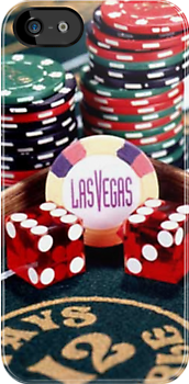 Las Vegas Casino iPhone 4/4s case by Jnhamilt