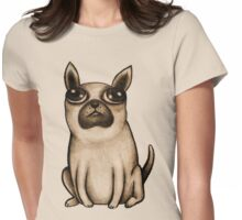 Puppy Womens Fitted T-Shirt