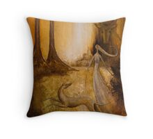 ARTEMIS AND ACTAEON Throw Pillow