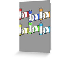 Batteries Not Included Greeting Card