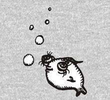 Telescope Eye Fish Kids Tee
