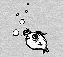 Telescope Eye Fish Unisex T-Shirt