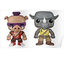 Bebop Rocksteady KIDS Poster