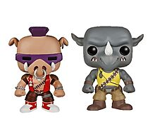 Bebop Rocksteady KIDS Photographic Print