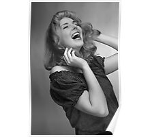 The Laugh of a Pinup. Poster