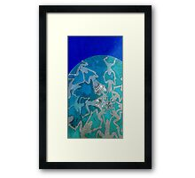 Little Ladies, supports healthy waterways.  Framed Print