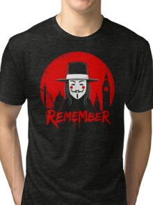 Remember the Fifth Tri-blend T-Shirt