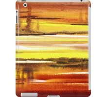 Warm Reflections Abstract Landscape iPad Case/Skin
