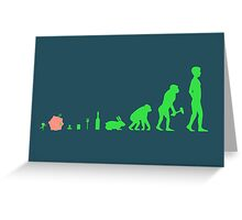 Katavolution Greeting Card